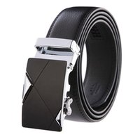 authentic designer belts - Fashion designer leather strap male automatic buckle belts for men authentic girdle trend men s belts ceinture cinto masculino