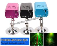 arrival projector light - New Arrival Red Green Mini Stage Laser Light Holiday Party Christmas Light Projector for DJ party Stars Laser Lighting Dance Floor Lights