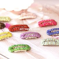 bb pet - South Korea Tactic Yorkshire Terrier pet accessories hair ball hair clip BB clip