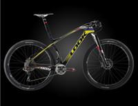 2016 NUEVO LO0K 987 989 T1000 3K bicicleta bicicleta cuadro de la bicicleta de montaña de fibra de carbono MTB tamaño de marcos 27.5er L gigante 29er XS S M Mérida XDP