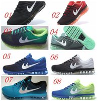 Cheap 2017 New air-bubble cushioned sole Max Shoes Men Sport Running Shoes, max Top Design shoes us 7-11 Free DropShipping With Box 8Colors