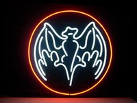 bacardi green - Bacardi Real Glass Neon Light Sign Home Beer Bar Pub Recreation Room Game Room Windows Garage Wall Sign
