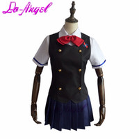 Wholesale Anime Another Misaki Mei School Uniform Dress Cosplay Costume Customized Size