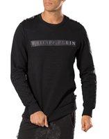 2016 NOUVEAU PP hommes casual logo en métal hoodies homme mode sports sueur hoodie blazer pull NWT taille M-3XL