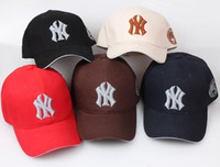 new york hats - 2016 New Yankees Hip Hop MLB Snapback Baseball Caps NY Hats MLB Unisex Sports New York Adjustable Bone Women casquette Men Casual headware