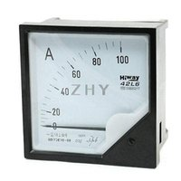 Wholesale AC Analog AC A Current Measuring Ammeter Panel Meter L6