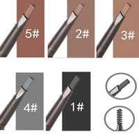 Wholesale Waterproof Eyebrow Pencil Pen Eye Brow Liner Cosmetic Makeup Beauty Tool Lasting Beautiful