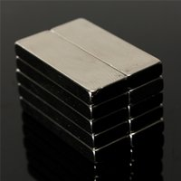 Nouveaux 10pcs Arrivée / Set N50 Bulk Super Strong Strip Bloc Bar Magnets Rare Earth néodyme 30 x 10 x 4 mm
