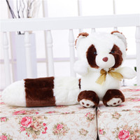 Wholesale 2016 Hot Cute Long Big Tail Plush Raccoon Best Gift For Birthday