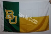 baylor flag - Baylor University NCAA Flag hot sell goods X5FT X90CM Banner brass metal holes BU02
