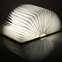 battery operated art light - LIXADA LED Rechargeable Folding Book night Lights W LM Battery Operated Changeable Shape Table desk Lamp home Decoration
