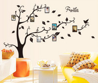 american houses pictures - Wall Stickers Home Decor Family Picture Photo Frame Tree Wall Mural Art Stickers PVC Decals Home Decor wallpaper House