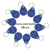 Wholesale RFID KHz Proximity ID Token Tag Key Keyfobs Blue Color F1661A