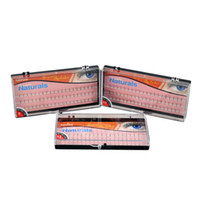 Wholesale 60PCS SET False Eyelashes Duralash Natural Individual Lashes Eyelashes Extension False Fake Eyelash Black Lash mm mm mm