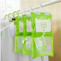 Wholesale Hanging wardrobe closet hanging moisture proof desiccant bag moisture mildew desiccant g