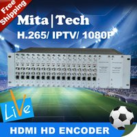 Wholesale DHL Channels HD G SDI Video Audio Encoder H H With Channel HD G SDI Loop Out