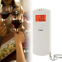 Wholesale Portable Single LCD Digital Alcohol Breath Analyzer Tester Breathalyzer Tool