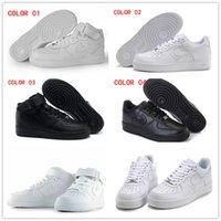 air force art - High quality AF1 One skateboarding Mens Women s Skate Shoes air cushion shoes Forces Casual Sneakers Running Shoes Size