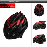 Wholesale Bicycle Accessories Bicycle Helmet SAHOO Cycling Helmet Vents cm PC EPS with Visor Colour Bicycle Safety Protector Helmet mtb Road