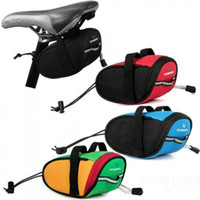Wholesale Cycling Portable Waterproof Bike Saddle Bag Cycling Seat Pouch Bicycle Tail Rear Pannier