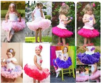 Wholesale Princess Tutu Skirt Candy Pettiskirt Children Kid Baby Girls Multilayer Tulle Party Dance Cake Ballet Tutu Skirts