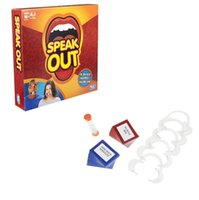 best mother board - 2017 New Speak Out Game Best Selling Hottest Family Catch Phrase Games Board Game Interesting Party Mother Daughter Game Halloween Toys
