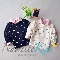 bicycle sweater - fashion children boy cotton sweater printing cartoon bicycle kids pullover sweaters boys wear