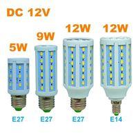 battery sockets - DC V Led Corn Bulb E27 E26 E14 Screw Base Socket Solar Battery Powered Light for Camping Beach Tent Hunting Cabin Safe Energy Saving