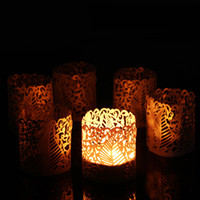 best candles - Hot Style Cheapest set Romantic Tea Light Candle Holder Votive Lampshade for Banquet Party Table Best Dinner Ornament Decor