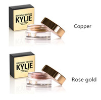 acne eye - Kylie Birthday Edition Creme Shadow Copper and Rose Gold Metal Kylie Creme Shadow Limited Edition Birthday Collection Metals Eye Shadow