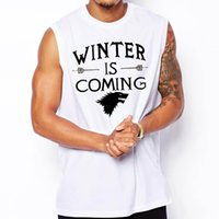 army tank games - Walking Dead Yeezus Game Of Thrones Breaking Bad Men Tank Tops Cotton Muscle Beatles Star Wars O Neck Man Sleeveless Shirts Top