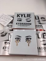 Wholesale shipping within hours Kylie Eyeshadow Cosmetics Jenner Kyshadow pressed powder eye shadow Kit Palette Bronze Preorder Cosmetic DHL Free