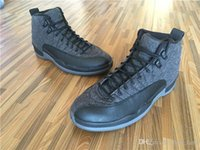 Wholesale 2016 air retro Wool Black Grey Basketball Shoes Black Nylon S GS Barons Master Flu Game Taxi Gamma Blue OVO white sneakers