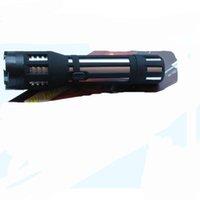 Wholesale Glare type Aluminum alloy Multifunctional Led Self Defense Torch Fashlight in stock burst flashing lights