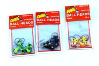 Wholesale 160pcs Jighead Fishing Lure Lead Jigs Metal Head Fishing Hooks Jigging Fishing Tackle G OZ