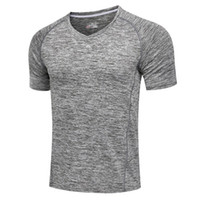 Wholesale Men s T shirts Sports Tights Original famous brand T shirts Basketball football Sportswear Muscle training Tights Compression T Shirts NO