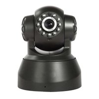 Wholesale Wireless IP Camera WIFI Webcam Night Vision UP TO M LED IR Dual Audio Pan Tilt Support IE S61