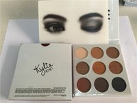 Wholesale New Kylie Cosmetics Bronze Eyeshadow KyShadow Palette Colors in set DHL