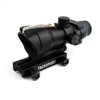 Wholesale Timberwolf ACOG Style X32 Red Dot Riflescope with Optic Fiber Reticle and QD mm Mount for Airsoft