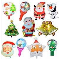 aluminium christmas tree - all kinds of Christmas Decorative aluminum Balloons Christmas Party Metallized Foil Balloons Helium Balloons Christmas Gift Tree