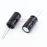 Wholesale uf V DIP Electrolytic Capacitor size mm mm