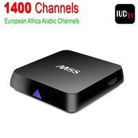 Wholesale M8S Amlogic S812 Android Smart TV Box with IUDTV Iptv Account Arabic Sport Canal Quad Core GB RAM GB ROM IPTV Set Top Box
