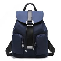 Wholesale New Designer Women Backpack For Teens Girls Preppy Style School Bag PU Leather Backpack Ladies High Quality Black Rucksack