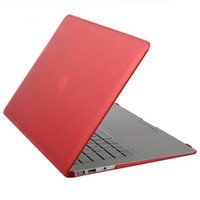 Wholesale Rubberized Crystal Surface Hard Cover Case Air Pro Pro Retina inch Crystal Case Cover For Apple Macbook Laptop Bag Shell For Mac