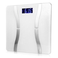 Wholesale MINI Body Scale WHITE and BLACK Smart Weighing Scale Digital Health Scale Body Fat Scale support QM2 Bluetooth