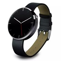 apple style monitor - 2016 New Style Heart Rate Monitor Bluetooth Smart Watch DM Round Waterproof Smartwatch For IOS Iphone Android Moto Phone
