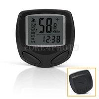 Wholesale NEW Accurate Digtal screen Wireless LCD Bike Bicycle Computer Odometer Speedomet