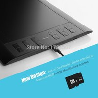 Wholesale Huion Graphic Art Drawing x6 quot Tablet PLUS with Built in Card Reader MicroSD Card and Express Keys