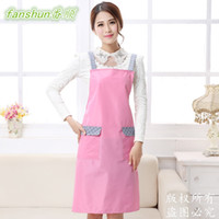 Wholesale Plain Apron with Front Pocket Bib Kitchen Craft Baking Art Jamming Adult
