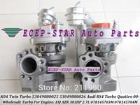 Wholesale NEW K04 Twin Turbo Turbine Turbocharger For Audi RS4 ASJ AZR HP L